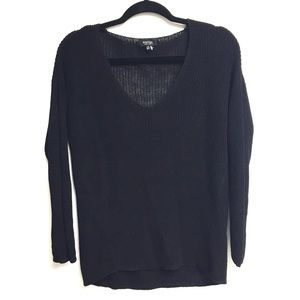 Aritzia Sweaters - ARITZIA Babaton Silk & Linen Long Sleeve Sweater
